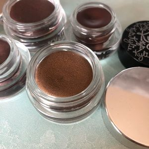 Kylie Cosmetics cream eye shadows and eyeliner